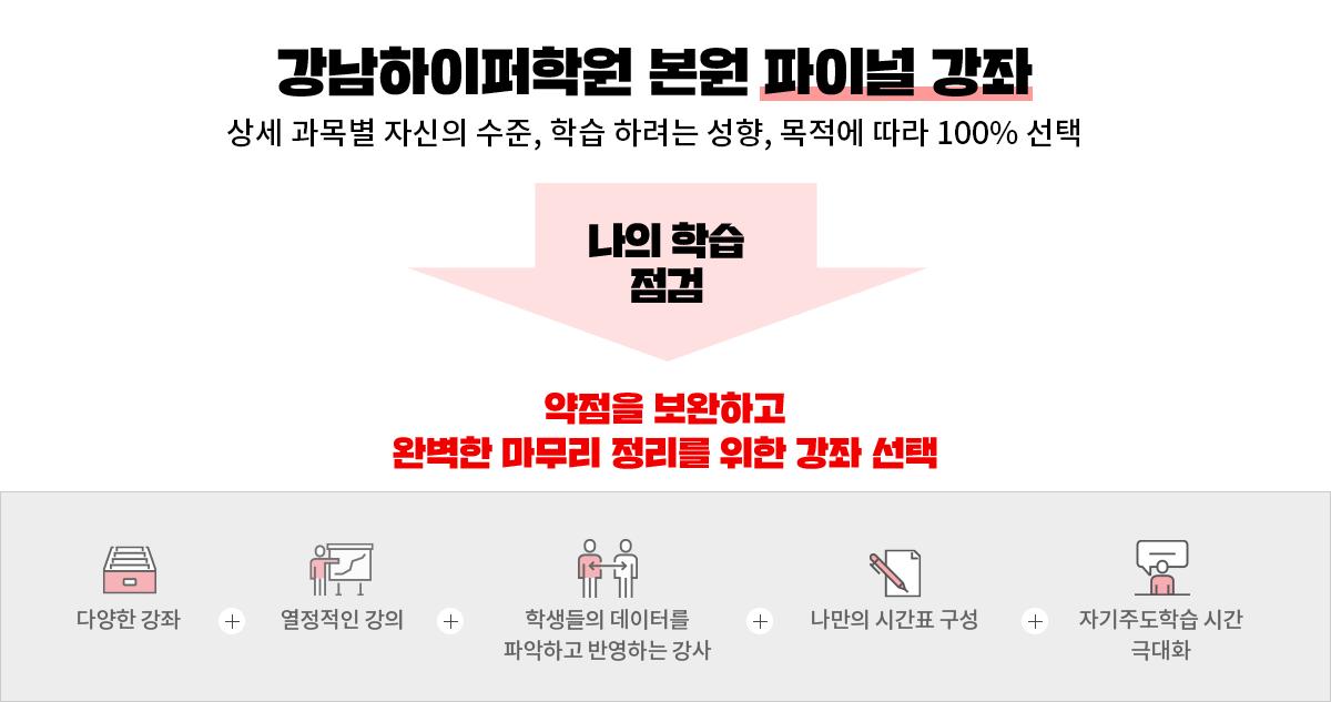 강남하이퍼학원 본원 파이널 강좌